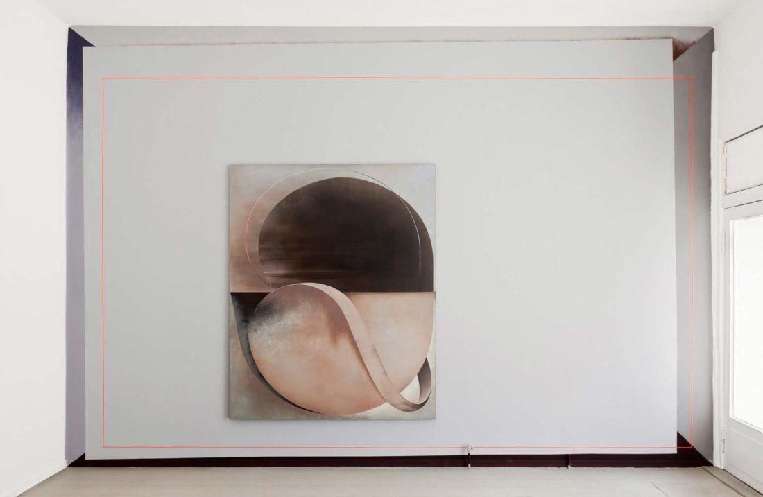 Grit Richter Installation Wallpainting Painting Art