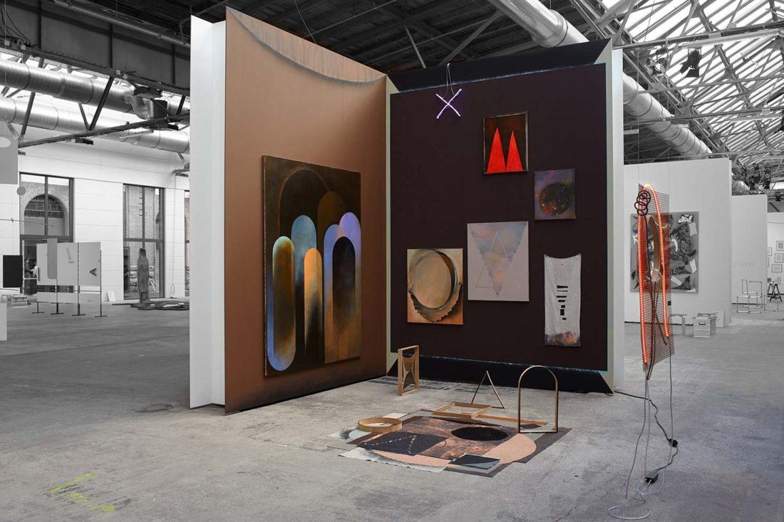 Grit Richter Installation Wallpainting Painting Sculpture Textile Neon Art