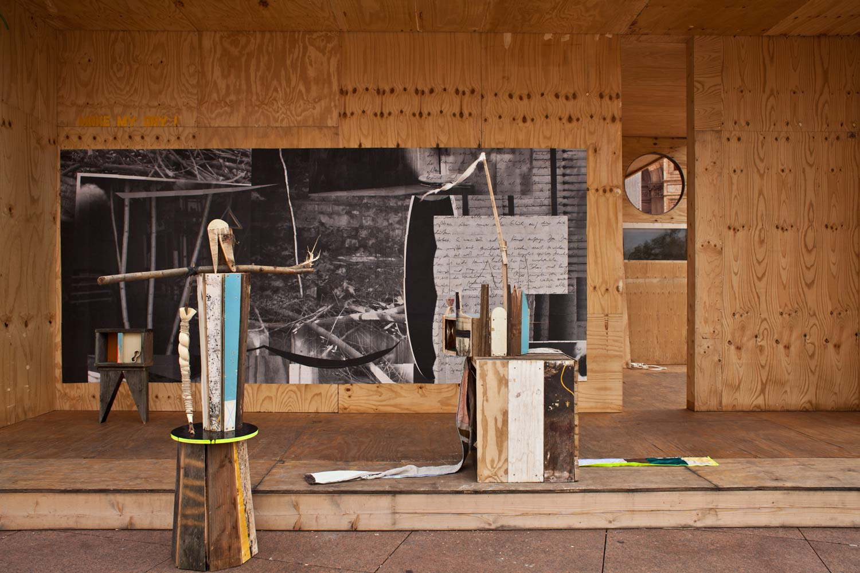 Grit Richter Installation Wallpainting Art