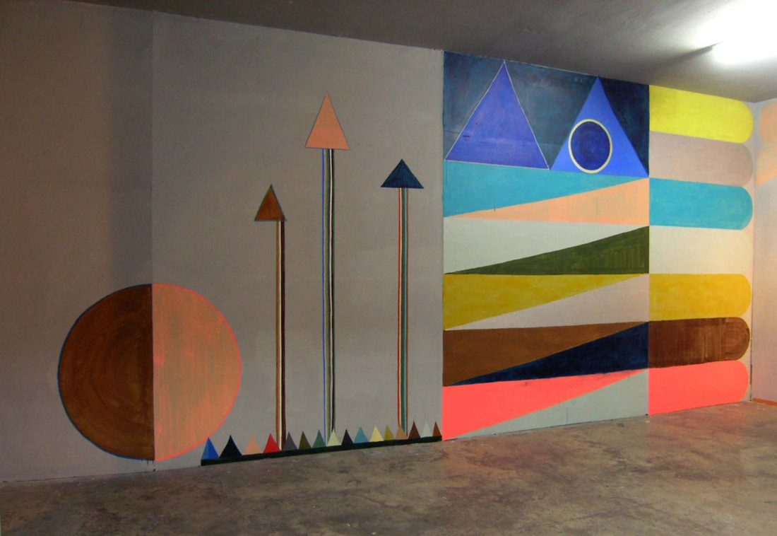 Grit Richter Installation Art Wallpainting