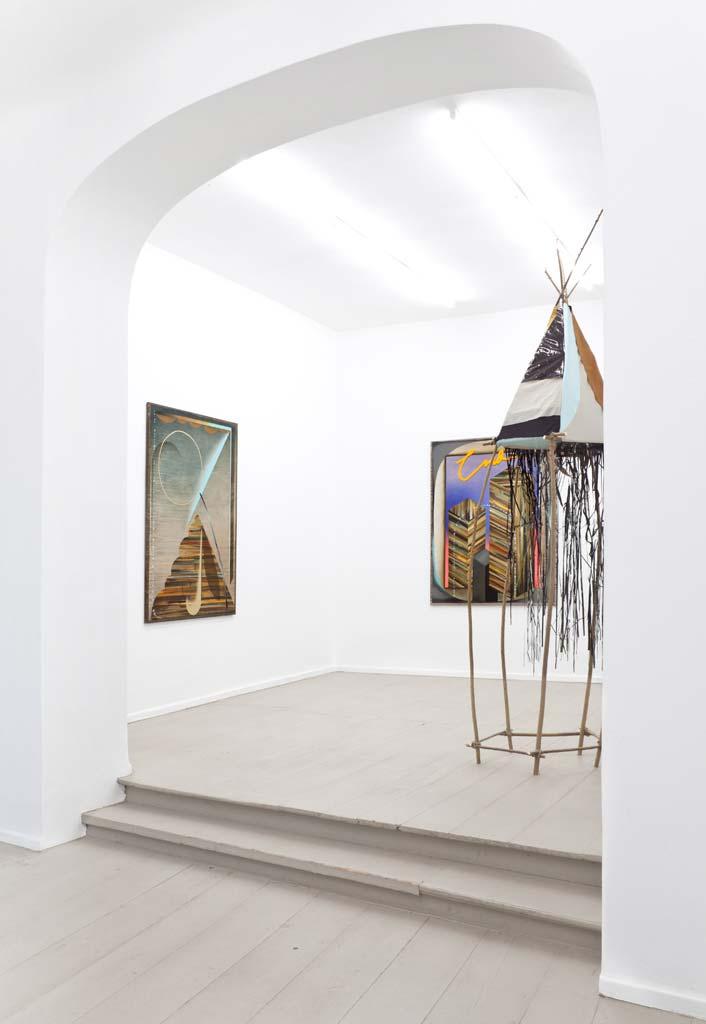Grit Richter Installation Sculpture Art Painting